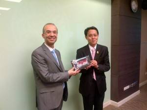 With Dr. Pisan Pongsapitch, Director of Standard Development, Thai Ministry of Agriculture
